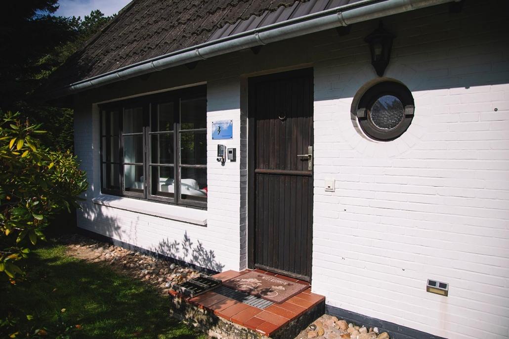 Ferienhaus Möwe Jonathan - Appartement Eingang