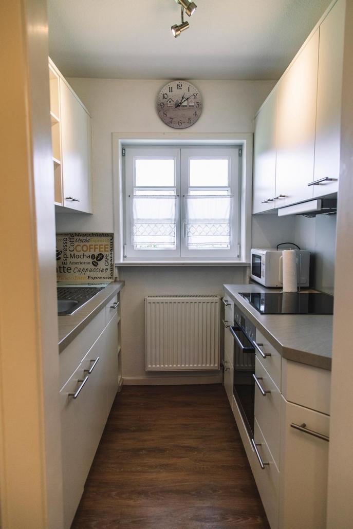 Ferienhaus Möwe Jonathan - Appartement Küche