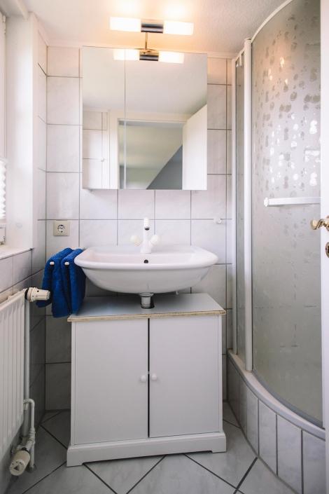 Ferienhaus Möwe Jonathan - Badezimmer Nr. 2