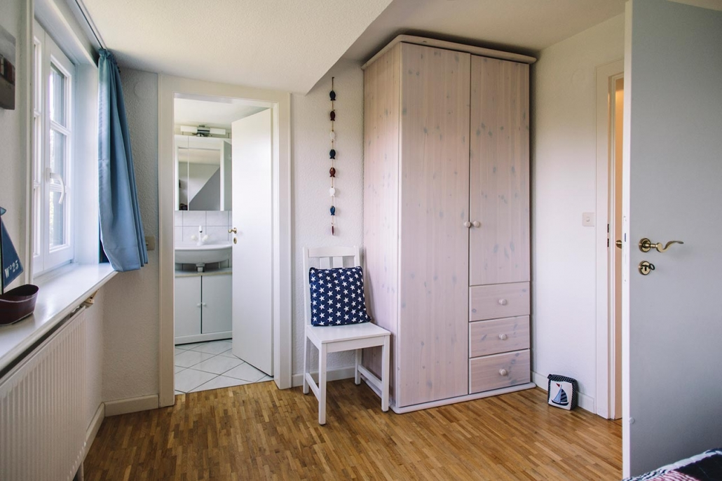 Ferienhaus Möwe Jonathan - Schlafzimmer Nr. 2