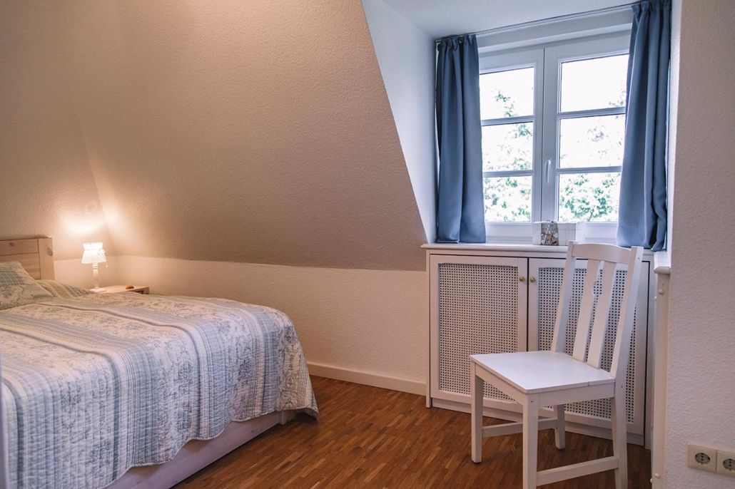 Ferienhaus Möwe Jonathan - Schlafzimmer Nr. 1