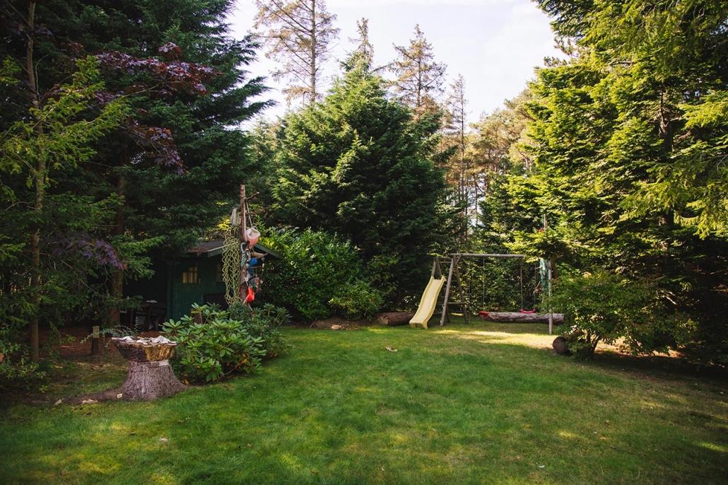 Im Garten vom Ferienhaus Möwe Jonathan